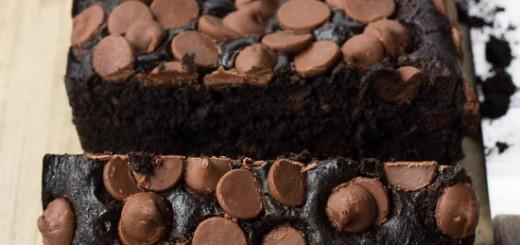 Cake au chocolat aux pépites de chocolat au lait2