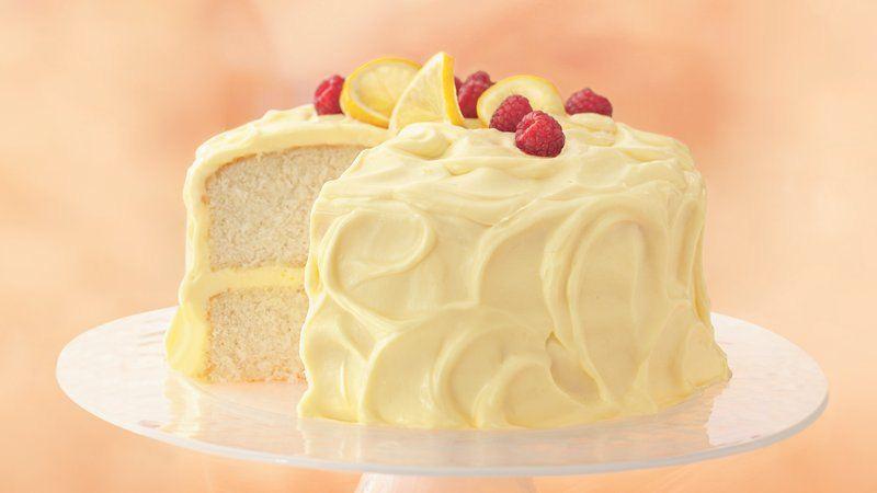 Gâteau à la crème de citron