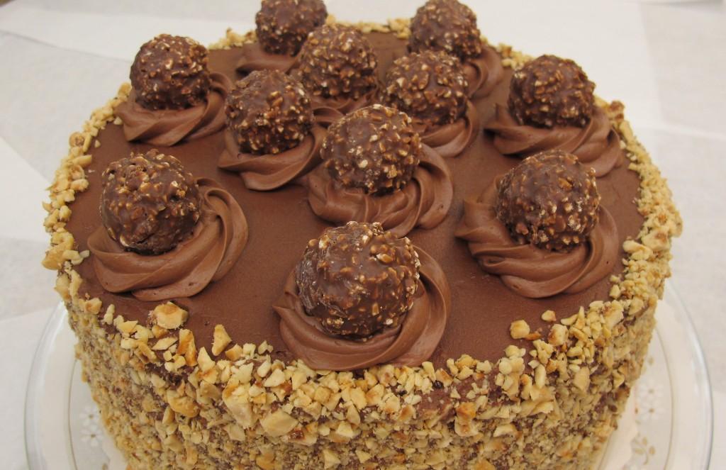 Gâteau Ferrero Rocher11