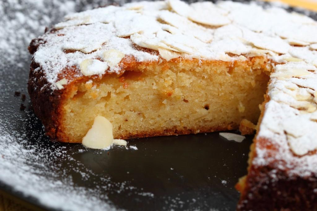 Gâteau aux amandes1
