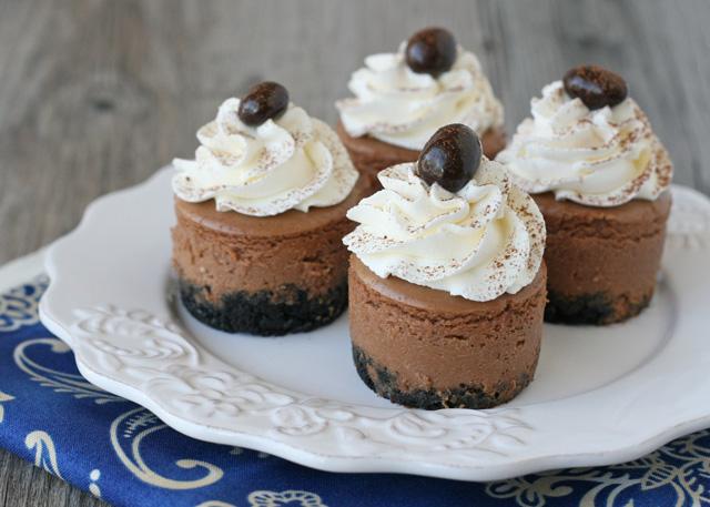 Mini cheesecake Oréo Chocolat1