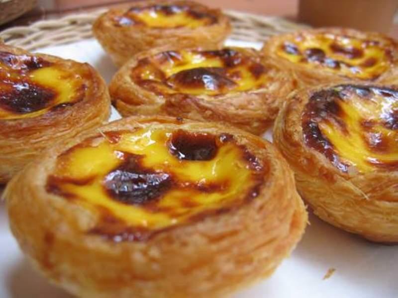 Pastéis de nata ( tarte portugaise )2