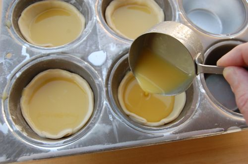 Pastéis de nata ( tarte portugaise )5