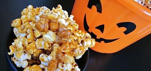 Popcorn au caramel beurre salé1