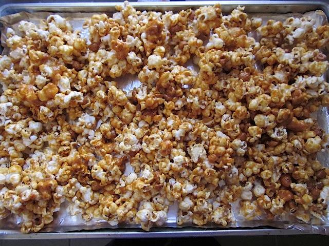 Popcorn au caramel beurre salé7