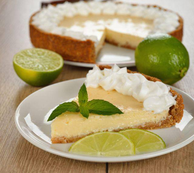 TARTE AU CITRON FACILE ET RAPIDE( KEY LIME PIE )1