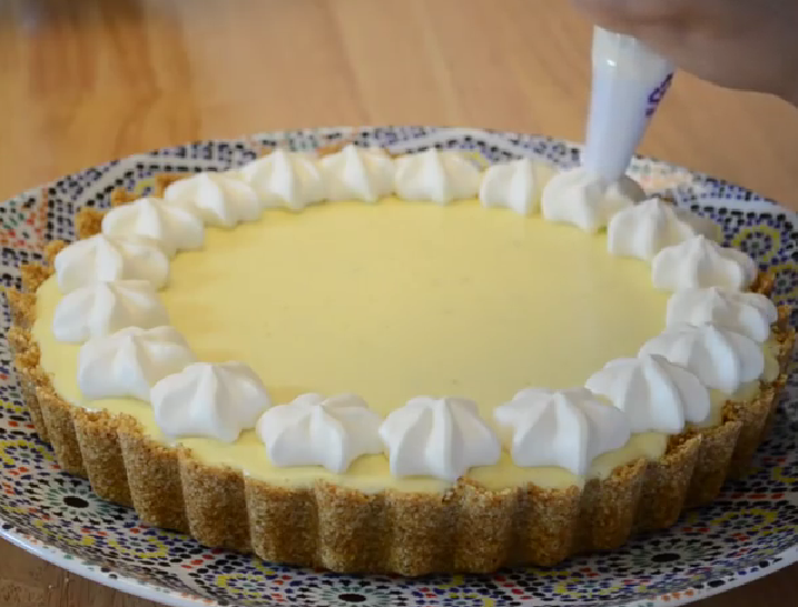 TARTE AU CITRON FACILE ET RAPIDE( KEY LIME PIE )3