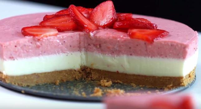 bavarois fraises chocolat blanc2