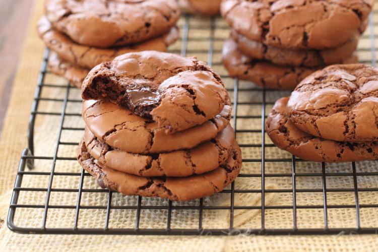 Cookies brownie amande chocolat1