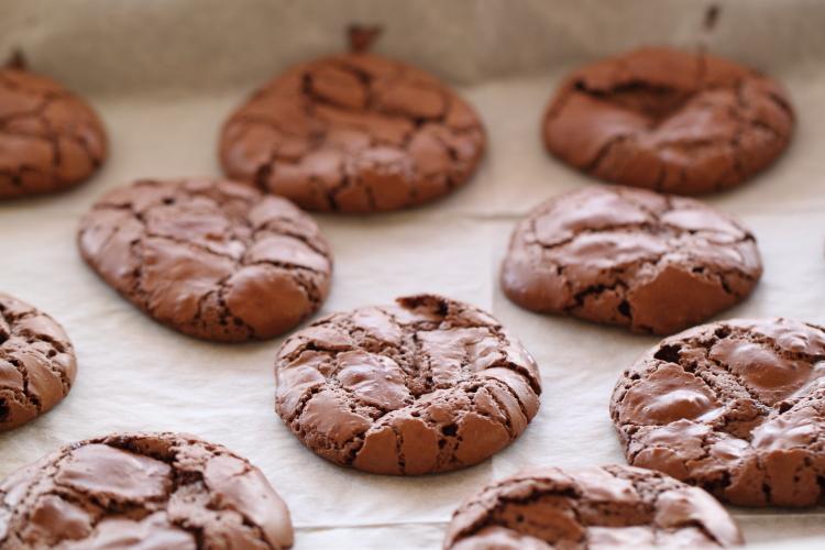 Cookies brownie amande chocolat6