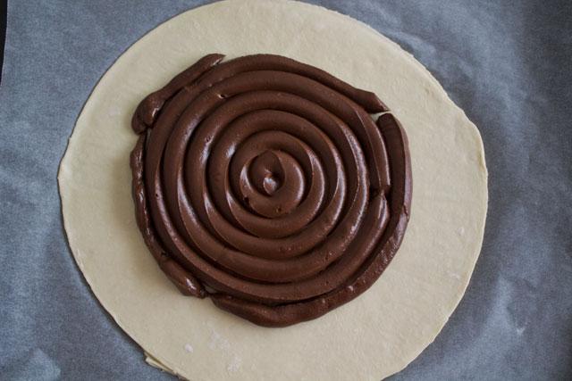 Galette des Rois avec ganache au chocolat4