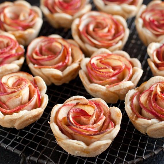 Tartelettes roses de pommes1