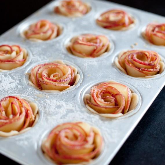 Tartelettes roses de pommes7