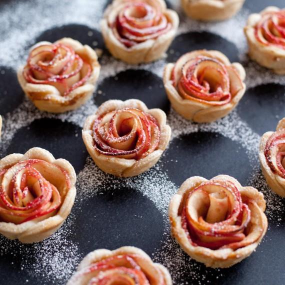 Tartelettes roses de pommes8