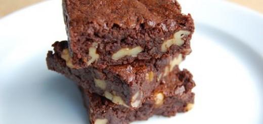 Brownie gourmand aux noix1
