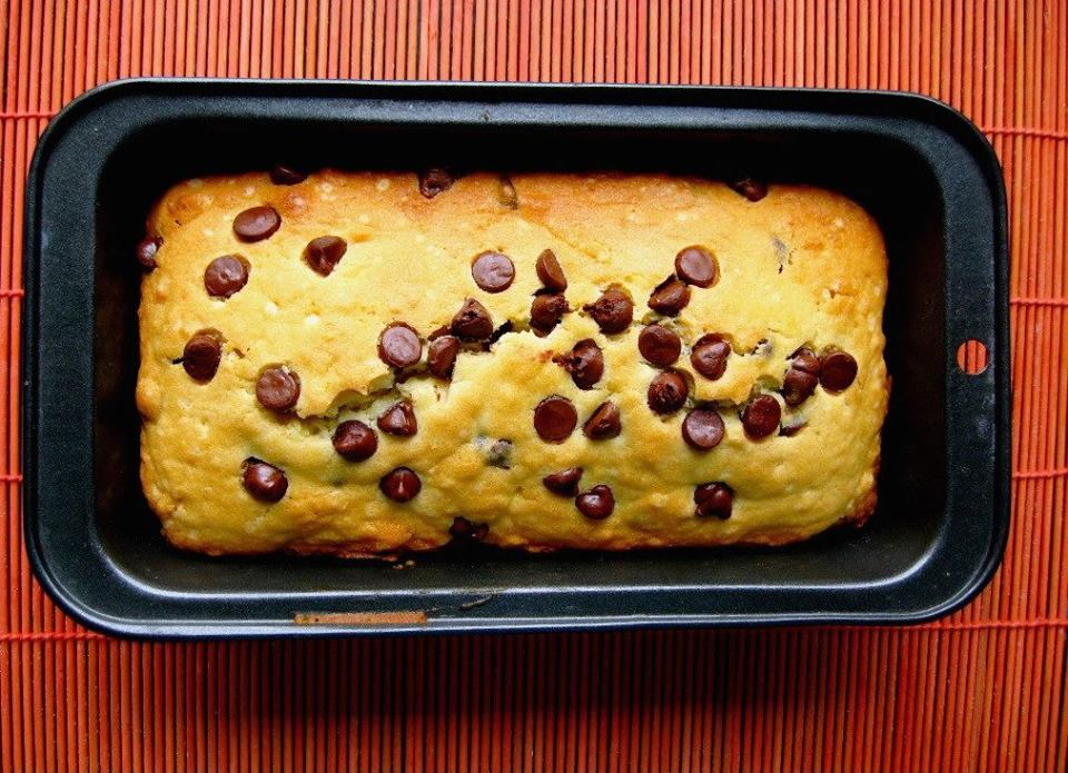 Cake aux pépites de chocolat1