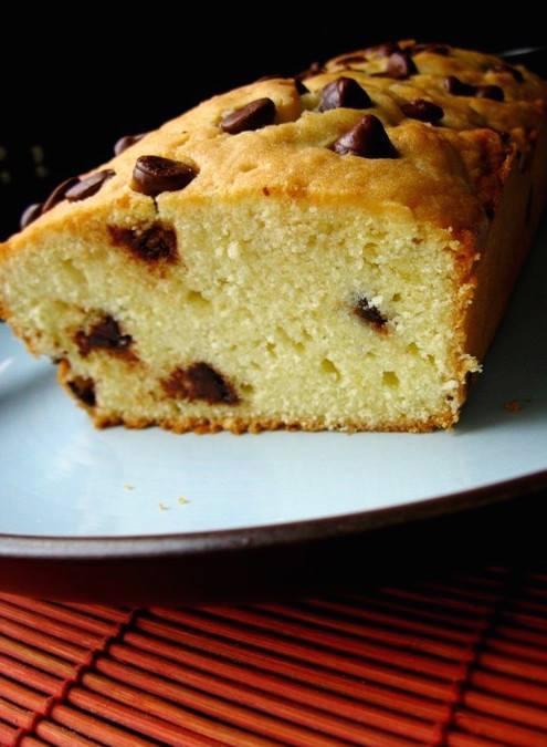 Cake aux pépites de chocolat2