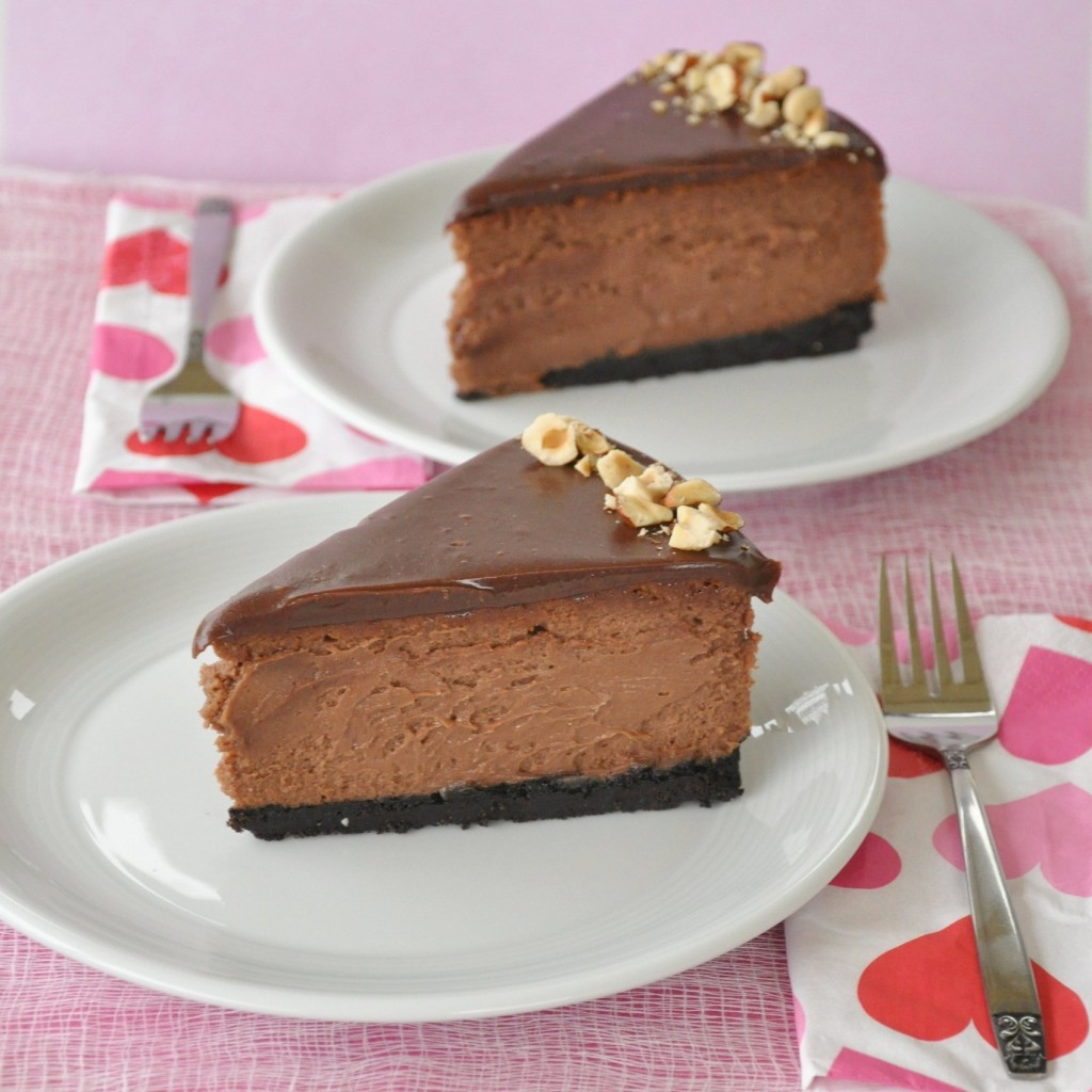 Cheesecake au Nutella et Noisettes2