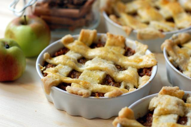 Mini tarte aux pommes, recette anglaise1
