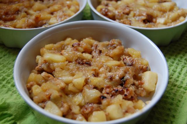 Mini tarte aux pommes, recette anglaise3