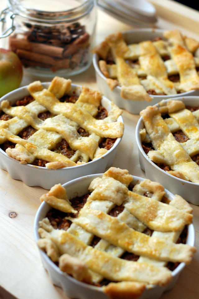 Mini tarte aux pommes, recette anglaise6