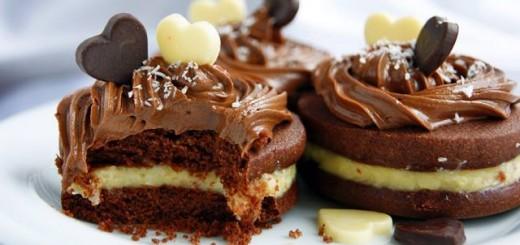 Biscuits au chocolat à crème de noix de coco1