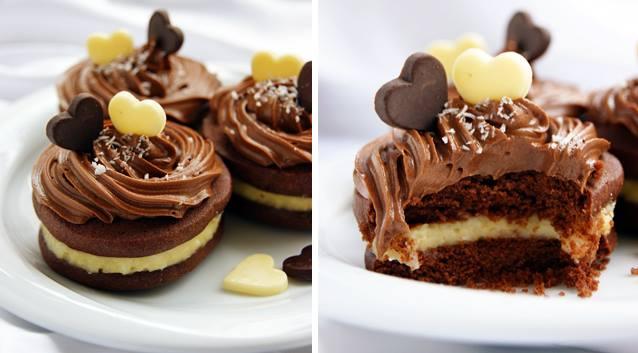 Biscuits au chocolat à crème de noix de coco14