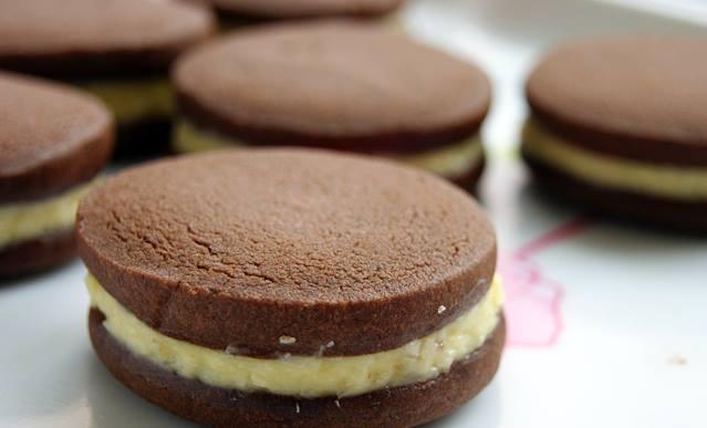 Biscuits au chocolat à crème de noix de coco3
