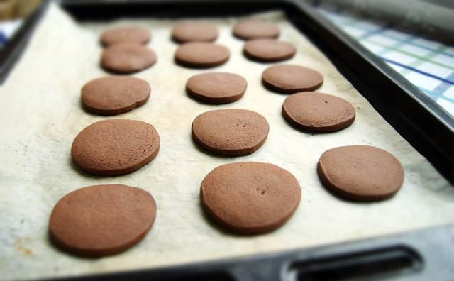 Biscuits au chocolat à crème de noix de coco5