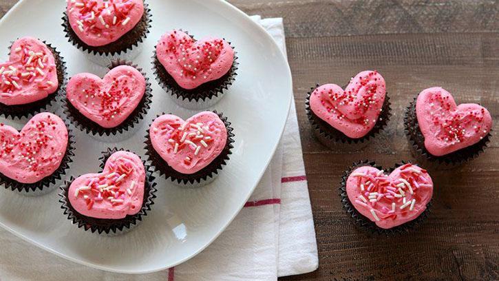 Cupcakes pour la Saint-Valentin1
