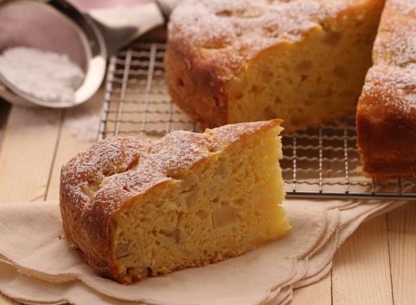 Gâteau aux poires et ricotta