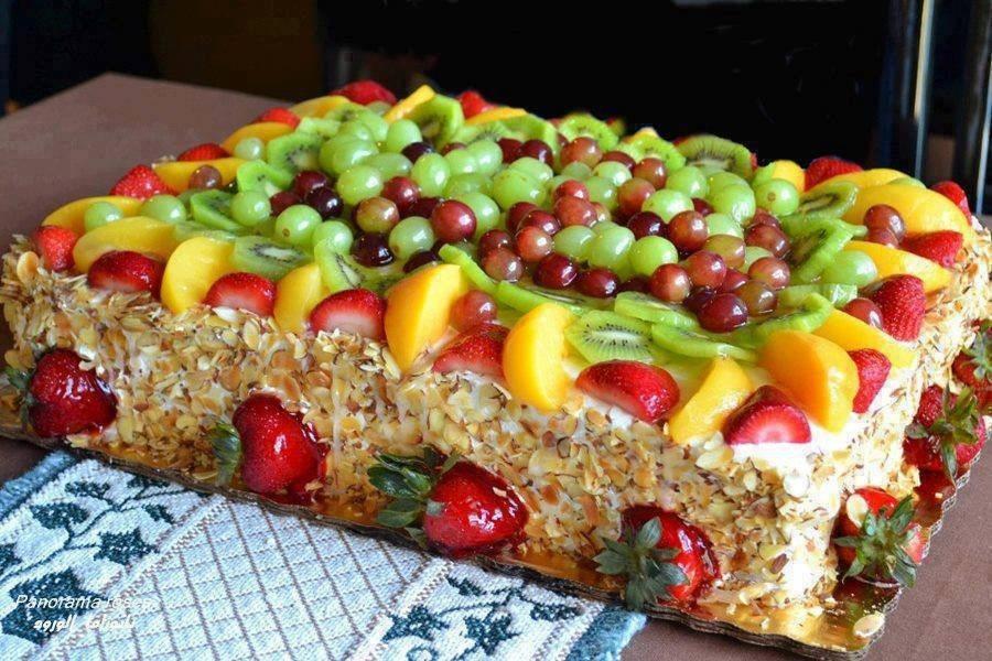 Gateau D Anniversaire Aux Fruits Gateaux Delices