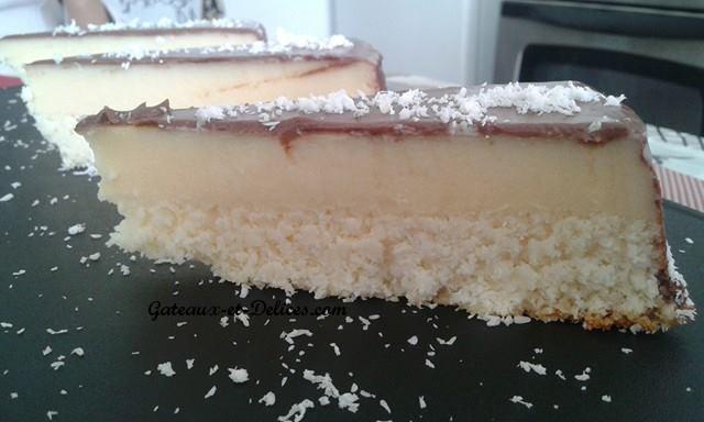 Irrésistible gâteau flan à la noix de cocoOk1