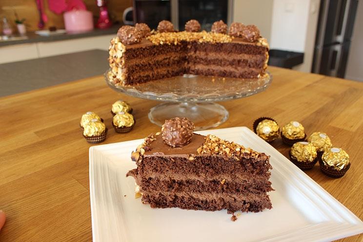 Le gâteau Ferrero Rocher1