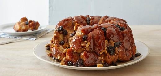 Monkey bread aux noix et raisins1