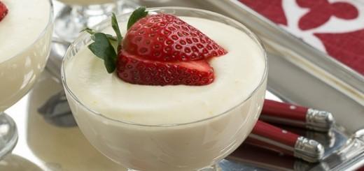 Mousse au chocolat blanc ( Très facile )1