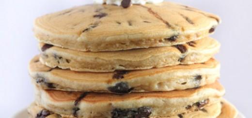 Pancakes ultra moelleux aux pépites de chocolat1