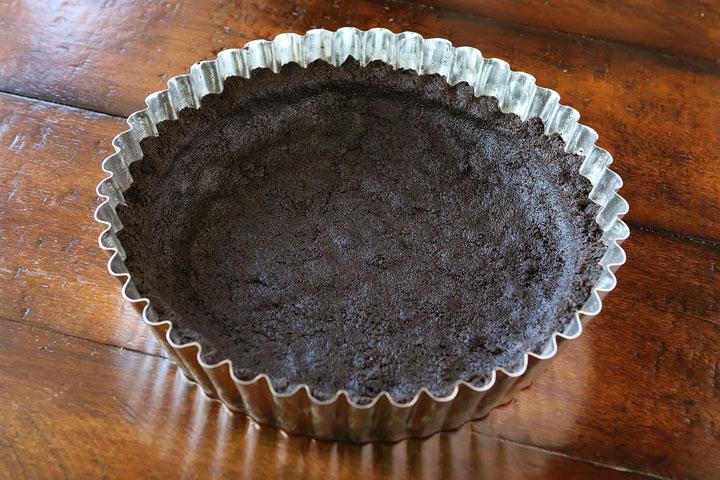 Tarte au chocolat et caramel beurre salé6