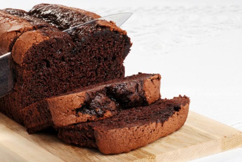 Cake fondant au chocolat1