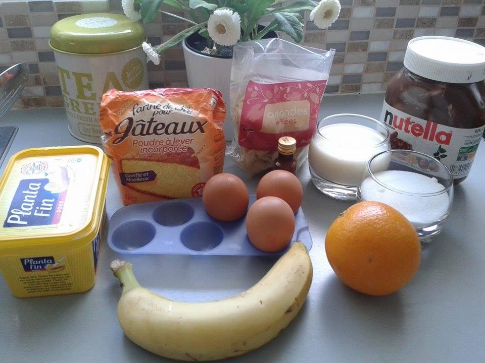 Muffins à la banane et Nutella2