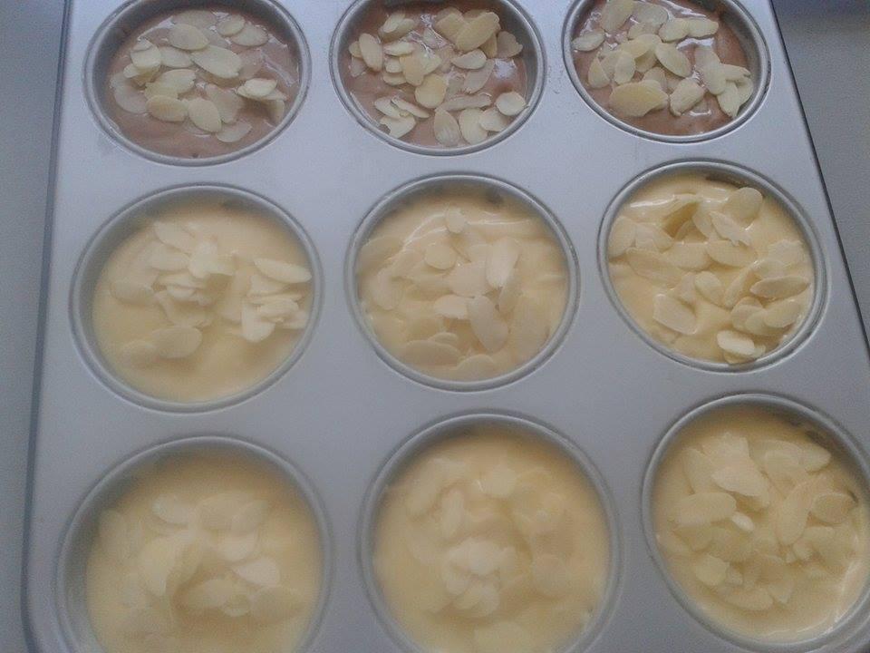 Muffins à la banane et Nutella4