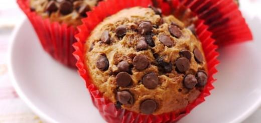 Muffins aux pépites de chocolat1