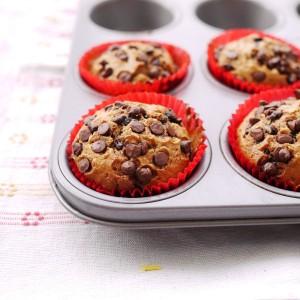 Muffins aux pépites de chocolat4