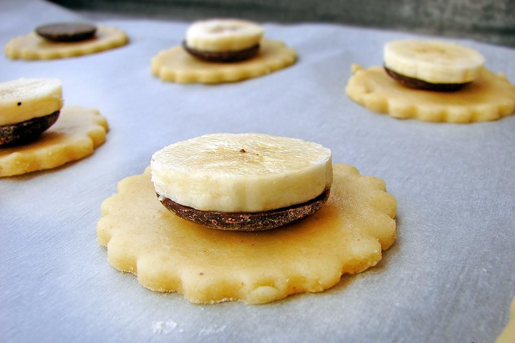 Petits sablés banane chocolat2