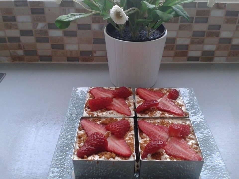 Tiramisu fraises et speculoos4