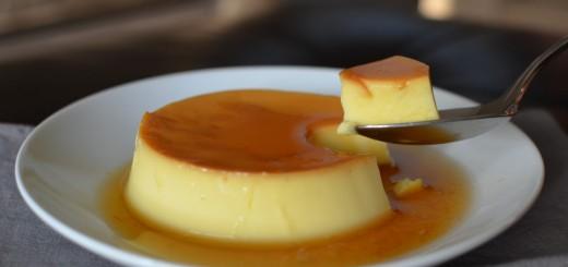 Crème renversée au caramel1