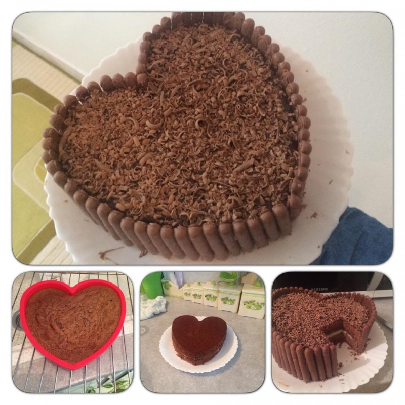 Délicieux gâteaux au chocolat