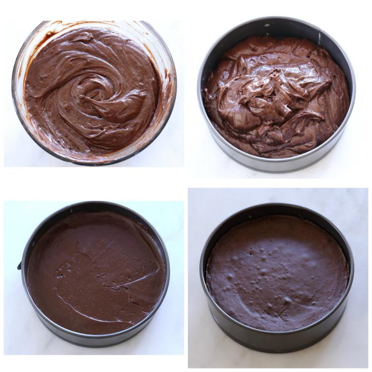 Gâteau au chocolat et beurre de cacahuète sans farine3