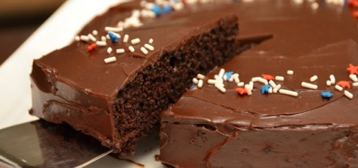 Gâteau yaourt au chocolat1