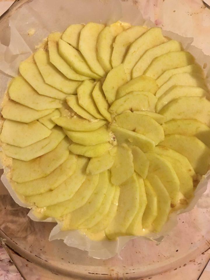 Moelleux aux pommes et à la frangipane5